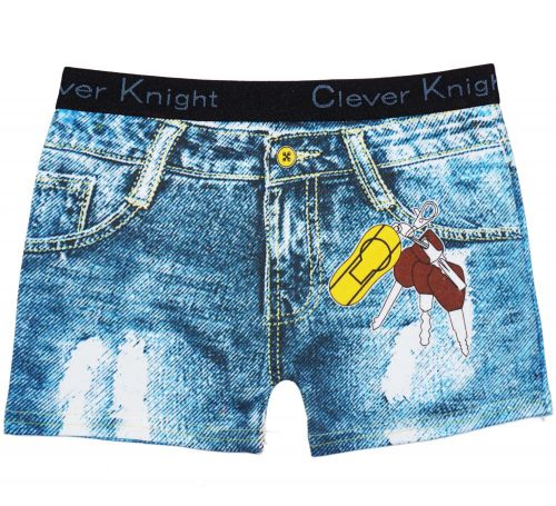 ТРУСЫ-боксеры на мальчика 6-15лет Clever Knight №GH9002